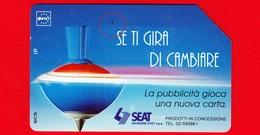 ITALIA - Scheda Telefonica - Usata - SIP - Trottole - Se Ti Gira Di Cambiare - Golden 319 - Variante - Italia