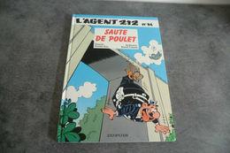Album L'agent 212 - Sauté De Poulet - N°14 1992 - Agent 212, L'