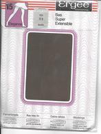 PAIRE De Bas ERGEE Bas Super Extensible 15 Elégance 788 - T 2 Poivre -avec Emballage D'origne - Tights & Stockings