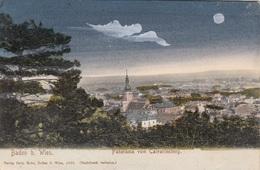 BADEN B.Wien (NÖ) - Panorama Vom Calvarienberg, Gel.1917? - Baden Bei Wien