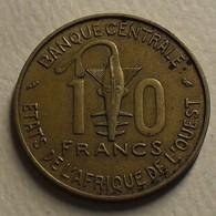 1967 - Afrique De L'Ouest - West African States - 10 FRANCS, BCEAO, KM 1a - Other - Africa