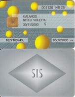 INDIA - SIS Cash Servises, Exp.date 30/11/05, Used - Geldkarten (Ablauf Min. 10 Jahre)