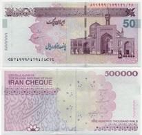Iran - 500000 Rials 2002 - 2013 Cheque Pick New(1) Signature Dr. Tahmaseb Mazaheri Lemberg-Zp - Iran