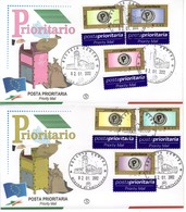 "2002 - FDC "" POSTA PRIORITARIA "" FILAGRANO VEDI++++ - 1946-.. République"