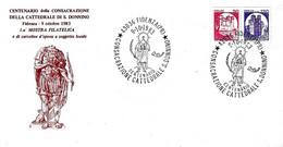 ITALIA - 1983 FIDENZA (PR)  Cent. Consacrazione Cattedrale E Martirio Di S. DONNINO Su Busta Speciale Numerata - 797 - Philatelic Exhibitions