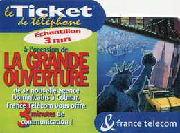 TICKET Téléphone  =  La Grande Ouverture - France