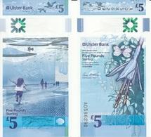 Ireland Northern - 5 Pounds 2018 UNC Ulster Bank Lemberg-Zp - Irlande Du Nord