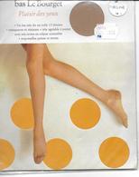 PAIRE De Bas LE BOURGET Plaisir Des Yeux  Très Fins En Voile 15 Deniers T 2 Zibeline Avec Emballage D'origne - Tights & Stockings