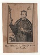 Santino Litografia Antico Servo Di Dio Pompilio Pirrotta - Religione & Esoterismo
