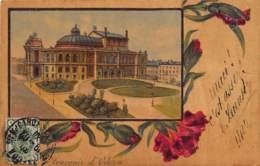 Ukraine - ODESSA - Postcard Made In Wood - The Opera House. - Ucraina