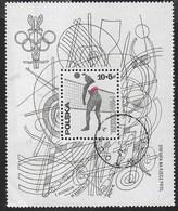POLONIA - GIOCHI OLIMPICI DI MONTREAL 1976  - FOGLIETTO USATO (YVERT BF 71 -MICHEL BL 65) - Estate 1976: Montreal