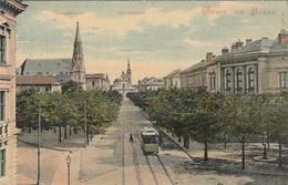 Gruss Aus BRÜNN - Jodokstrasse, Thomaskirche, Gel.1908? - Tschechische Republik