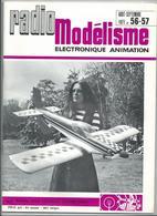 RADIO MODELISME Avion Bateaux Train Voiture 1971 N° 56.57 - Aviation