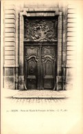 21 - DIJON - Porte De L'Ecole St-François De Sales - Dijon
