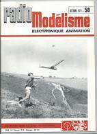 RADIO MODELISME Avion Bateaux Train Voiture 1971 N°58 - Aviation