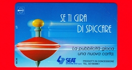 Nuova - MNH - ITALIA - Scheda Telefonica - TELECOM - Trottola - Se Ti Gira Di Cambiare - Golden 330 - Variante - Italy