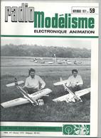 RADIO MODELISME Avion Bateaux Train Voiture 1971 N°59 - Aviation