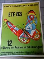 Affiches - Saint Denis 1983 - Servic Municipal De La Jeunesse - Affiches