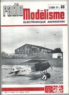 RADIO MODELISME Avion Bateaux Train Voiture 1971 N°60 - Aviation