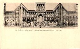 21 - DIJON - Rétable D'Autel En Bois Sculpté - Dijon
