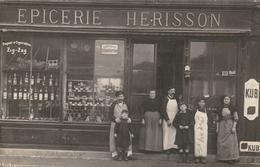 27 Saint André De L'Eure.Epicerie Herisson. Carte Photo - France