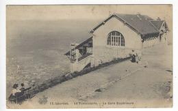 17 - LOURDES .- Le Funiculaire- La Gare Supérieure - Lourdes