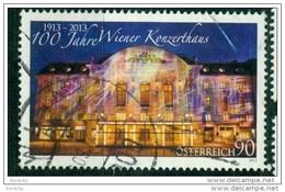 2013 - 3072 - ° -  100 Jahre Wiener Konzerthaus - 1945-.... 2. Republik
