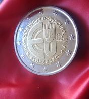 Slovakia 2 Euro Coin 2014  10th Anniversary - Accession To The European Union Coin  CIRCULATED - Slowakije