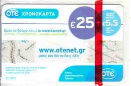GREECE - Www.otenet.gr, OTE Prepaid Card 25 Euro, Tirage 5000, 05/10, Mint - Greece