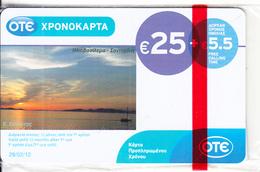 GREECE - Sunset/Santorini Island, OTE Prepaid Card 25 Euro, Tirage 5000, 09/10, Mint - Greece