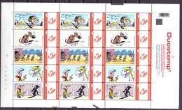Belgie - 2007 -  ** Duostamp - 1 Vel - Lucky Luke - Lucky Comics 2008 ** - Belgium
