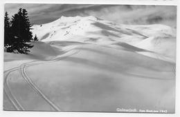 (RECTO / VERSO) TSCHAGGUNS EN 1961 - GOLMER JOCH - FOTO RISCH LAU - N° 7842 - BEAU TIMBRE - FORMAT CPA VOYAGEE - Bludenz