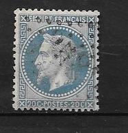 Napoléon III Lauré: N°29B O (recto/verso) - 1863-1870 Napoleon III With Laurels