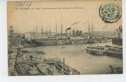 MARSEILLE - Quai D'Embarquement Des Messageries Maritimes - Old Port, Saint Victor, Le Panier