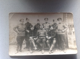 Photo Carte Soldat Militaire Militaria - Guerre 1914-18