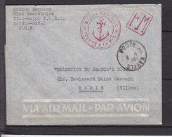 INDOCHINE 1951 FM  SAIGON NAVAL - Indochine (1889-1945)