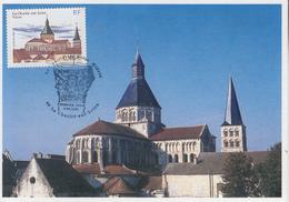 Carte  Maximum  1er Jour   FRANCE   La  CHARITE  SUR  LOIRE      NIEVRE    2002 - Maximumkarten
