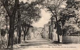 [33] Gironde > Non Classés Créon Entre Deux Mers Rue St Genes - France
