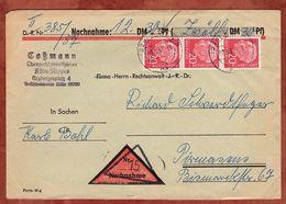 Nachnahme, Heuss, Koeln Nach Pirmasens, Lagerfriststempel 1957 (72636) - Briefe U. Dokumente