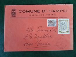 (31759) STORIA POSTALE ITALIA 1979 - 1946-.. République