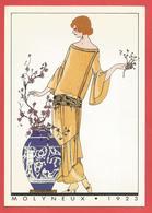 C.P.M. ( FRANCE ) Collection Haute Couture Illustration Au Pochoir Extraite De AGB Voir 2 Photos - Peintures & Tableaux