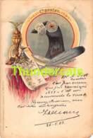 CPA  ILLUSTRATEUR ARTIST SIGNED BUNGARTZ CARRIER DOVE PIGEON COLOMBE KORNSAND ( MANQUE ANGLE - MISSES CORNER ) - Otros Ilustradores