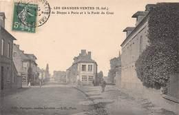 LES GRANDES VENTES - Route De Dieppe à Paris Et à La Forêt Du Croc - France