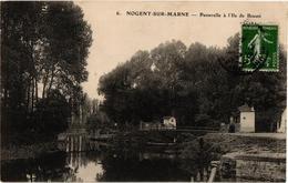 94 .. NOGENT SUR MARNE .. PASSERELLE A L'ILE DE BEAUTE - Nogent Sur Marne