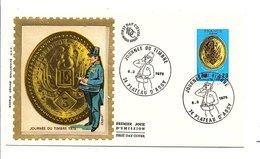 FDC 1975 JOURNEE DU TIMBRE - PLATEAU D'ASSY - FDC