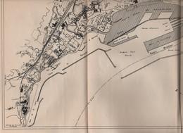 Plan Rade De Marseille 1930 - Europe
