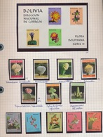 BOLIVIA  12 STAMPS  + 1 BLOC NEW NOUVEAU NIEUW - Bolivie