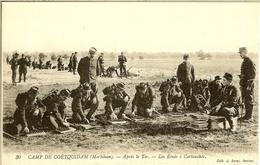 CAMP De COËTQUIDAM -  BEAU LOT De 15 CPA   =========> PORT GRATUIT - - Militaria