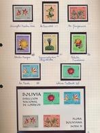 BOLIVIA  9 STAMPS  + 1 BLOC NEW NOUVEAU NIEUW - Bolivie