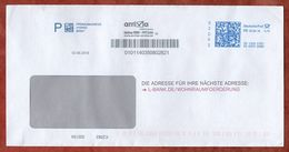 Brief, FRANKIT Francotyp-Postalia 3D130.., L-Bank, 70 C, Spray Arriva, 2018 (72640) - BRD